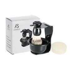 4In1 Male Beard Shaving Kit Soap Dish Blaireau Brush Shaving Razor Set Male Care