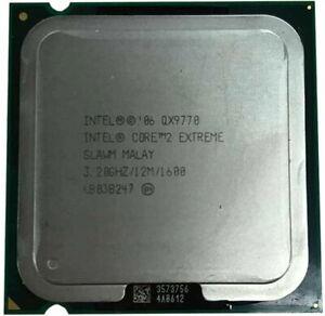 Intel Core 2 Extreme QX9770 3.2GHz Quad-Core SLAN2 / SLAWM Processor w/Grease