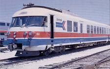 Amtrak ANF Turbo-Liner Train passenger railroad postcard