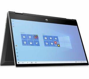 "HP Pavilion x360 14-DW0522SA 14"" Touch Intel i3-1005G1 256GB SSD 4GB RAM Win 10"