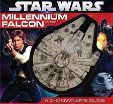 Hardcover STAR WARS MILLENIUM FALCON YT-1300: A 3-D OWNER'S GUIDE
