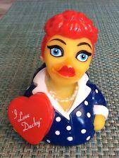 2017 I Love Ducky CelebriDuck Tub Bath Toy Rubber Duck Novelty Item