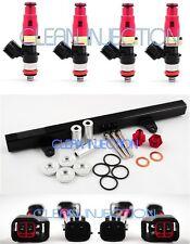 fit Nissan 180sx 240sx s13 SR20 SR20DET bosch ev14 550cc Fuel Injectors rail