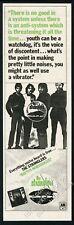 1977 The Stranglers photo Rattus Norvegicus album release print ad