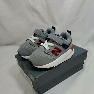 **New Balance 009 V1 IH009SA1 Sneakers, Toddler Boy's Size 4W, Gray NEW