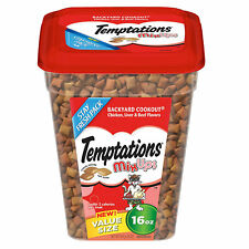 NEW TEMPTATIONS MIX UPS BACKYARD COOKOUT CHICKEN LIVER BEEF FLAVORS 16 OZ PACK