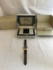 Emporio Armani ARS2003 Swiss Ladies Leather Watch rose gold and black