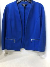 Alfani Blue Suit Jacket Size 10