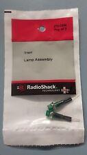 RADIO SHACK  2720334 Green Lamp Assembly 272-0334 - 2 Pack