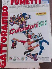 Album figurine Calciatori vuoto panini 2012-2013 edicola Magazzino