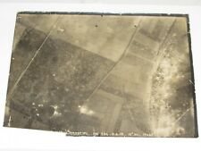 02E17 PHOTOGRAPHIE AÉRIENNE 14/18 PHOTO VUE DE MAILLY RAINEVAL SOMME 1918 WWI