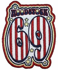 """Woodstock 69"" Music & Art Fair Festival Embroidered Iron On Applique Patch"