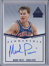 Mark Price 2014-15 Paramount *Blue Parallel Autograph* NBA #23/25