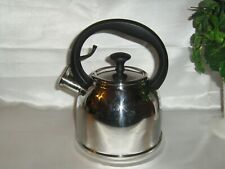 CHANTAL CCSL37-MO Whistling 2QT Stainless Steel 18/8 Tea Kettle Pot/ USA