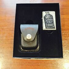Zippo Gift Set Jack Daniels Lighter and Pouch 2008 Design