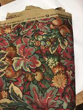 """New Vintage waverly Fabric """"Southwood"""" teflon"""