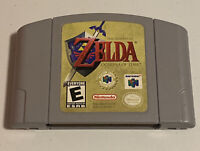 The Legend of Zelda Ocarina of Time for Nintendo N64 Authentic OEM Tested