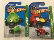 Hot Wheels Angry Birds lot of 2 different! HW Imagination, FREE shipping!