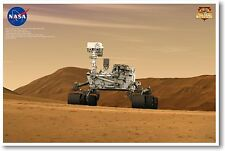 Curious Mars Curiosity 4 NEW EDUCATION CLASSROOM SCIENCE SPACE ASTRONOMY POSTER