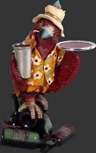 Parrot Butler 3ft Statue animal bird Figurine cafe bar restaurant home decor art