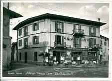 CARTOLINA d'Epoca - VARESE : PONTE TRESA 1958 - ALBERGO VARESE