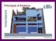 ANDORRA ESPAÑOLA 2011 Arquitectura. Casa Farràs J. M. Sostres  1v.