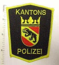 BERNE SWITZERLAND KANTONS POLIZEI POLICE PATCH Vintage Original SWISS