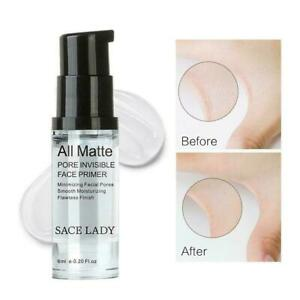 Hot Sace lady Matte Pore Invisible Face Primer Eyeshadow Base Primer NEW K2S4