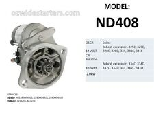 New starter motor suit Bobcat excavators 325C,325D,328,331,331C,334,337,341,341C