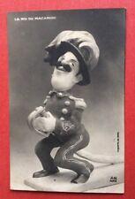 CPA. GIRIS. Le Roi du Macaroni. Victor Emmanuel III ?. Satire. Caricature.