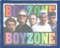 BOYZONE group/logo RARE 80/90s - PRINTED SEW ON PATCH - no longer made VINTAGE