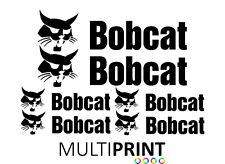 Bobcat Sticker Decal Kit   Digger   Excavator   Plant   Mini Digger   DIG1