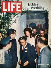Life Magazine Nov 1 1968 Jackie Kennedy Onasis Wedding Sister George Lesbianism