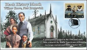 CA21-014, 2021, Black History Month, First Day of Issue, Pictorial Postmark,