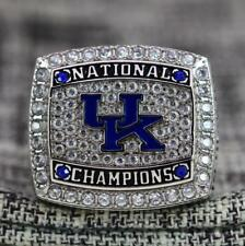 2012 UK Kentucky Wildcats NCAA National Basketball Championship Ring 8-14Size