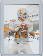Peyton Manning 2014 SP Authentic #134 Short Print football card Colts Broncos