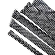 12 mm x 3 m haute qualité Pet Nylon Extensible Gaine Fil de Câble gaine