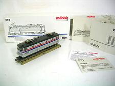Märklin h0 E-Lok Amtrack x995, serie speciali, analogico, Delta, digitale, OVP, Mattoncini