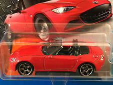 RARE 2016 Matchbox JDM RED 2015 MAZDA MX-5 MIATA SPORTS convertible - mint card