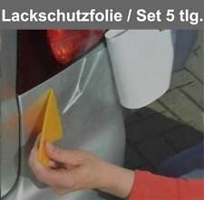 Auto Lackschutzfolie Folie Steinschlagschutzfolie Set transparent Folien - NEU