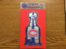 NHL 1993 MONTREAL CANADIENS STANLEY CUP CHAMPIONS DECAL
