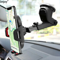 Car Dashboard Windshield Sucker Cup Holder 360° Rotatable Mount Cell Phone Stand
