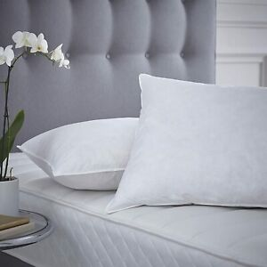 Luxury Duck Feather Pillows Super Soft Hypoallergenic 100% Microfibre Cover