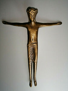 Moderner Christus-Korpus aus Bronze