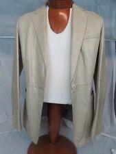 * Emporio Armani * Pistachio Lamb Leather Jacket size US 10 (44)
