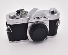 Konica Autoreflex A3 Silver 35mm SLR Film Camera Body AR Mount (#4085)