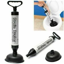 Powerful Drain Buster Plunger Toilet Unbloker Sink Clog Remover Rubber Sucker