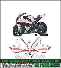 kit adesivi stickers compatibili  s 1000 rr motorsport motorrad