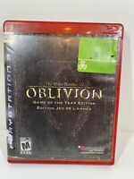 The Elder Scrolls IV Oblivion Game of the Year Edition PlayStation 3 2007 GH PS3