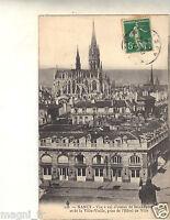 54 cpa NANCY Ansicht -perspektive Luft- aus St Epvre und von der alt Rathaus